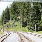 Schweizer-Eisenbahnen Bahnhof Davos Laret