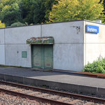 Schweizer-Eisenbahnen Bahnhof Soyhières