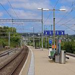 Schweizer-Eisenbahnen Bahnhof Neuhausen