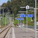 Schweizer-Eisenbahnen Bahnhof Brunnadern-Neckertal