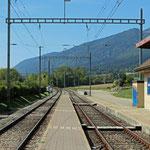 Schweizer-Eisenbahnen Bahnhof Lommiswil