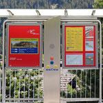 Schweizer-Eisenbahnen - Bahnhof Dieni