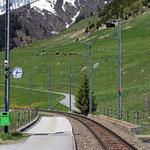 Schweizer-Eisenbahnen Bahnhof Rueras