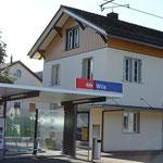 Schweizer-Eisenbahnen Bahnhof Wila