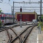 Schweizer-Eisenbahnen - Bahnhof Wil