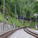 Schweizer-Eisenbahnen Bahnhof Fiesch