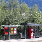 Schweizer-Eisenbahnen Bahnhof Landquart Ried