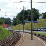 Schweizer-Eisenbahnen - Bahnhof Lustmühle