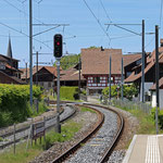 Schweizer-Eisenbahnen Bahnhof Berlingen