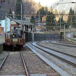 Schweizer-Eisenbahnen - Bahnhof Rodi-Fiesso