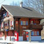 Schweizer-Eisenbahnen Bahnhof Peist