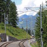 Schweizer-Eisenbahnen Bahnhof Cavadürli