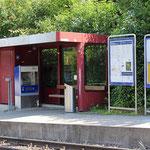 Schweizer-Eisenbahnen - Bahnhof Dietikon Stoffelbach