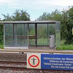 Schweizer Eisenbahnen Bahnhof Hüttlingen-Mettendorf