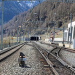 Schweizer- Eisenbahnen Bahnhof Sagliains