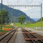 Schweizer-Eisenbahnen Bahnhof Lax