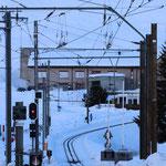 Schweizer-Eisenbahnen Bahnhof Andermatt
