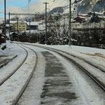 Schweizer-Eisenbahnen Bahnhof Tavanasa-Breil/Brigels