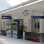 Schweizer-Eisenbahnen - Bahnhof Poschiavo