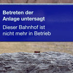 Schweizer-Eisenbahnen Bahnhof Weite