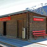 Schweizer-Eisenbahnen - Bahnhof Tschamut-Selva