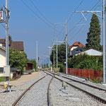 Schweizer-Eisenbahnen - Bahnhof Kradolf