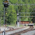 Schweizer-Eisenbahnen Bahnhof Pontresina