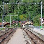 Schweizer-Eisenbahnen Bahnhof Grüsch