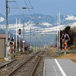 Schweizer- Eisenbahnen Bahnhof Schänis