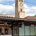 Schweizer-Eisenbahnen - Bahnhof Bozen
