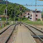 Schweizer-Eisenbahnen - Bahnhof Pfungen