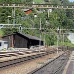 Schweizer-Eisenbahnen - Bahnhof Gurtnellen