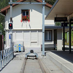 Schweizer-Eisenbahnen - Bahnhof Bergün