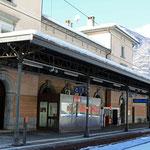 Schweizer-Eisenbahnen Bahnhof Biasca