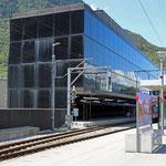 Schweizer-Eisenbahnen - Bahnhof Visp