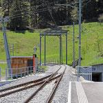 Schweizer-Eisenbahnen Bahnhof Dieni