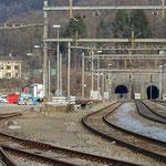 Schweizer-Eisenbahnen - Bahnhof Rivera-Bironico