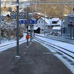 Schweizer-Eisenbahnen Bahnhof Küblis