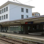 Schweizer-Eisenbahnen - Bahnhof Burgdorf