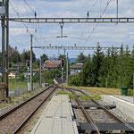 Schweizer-Eisenbahnen - Bahnhof Diessenhofen