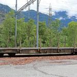 Schweizer-Eisenbahnen RhB Güterwagen Sp-w - 8292