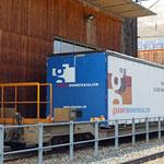 Schweizer-Eisenbahnen RhB Güterwagen Sb-t - 656 70