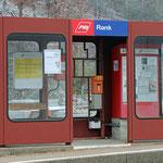 Schweizer-Eisenbahnen - Bahnhof Rank