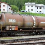 Schweizer-Eisenbahnen RhB Güterwagen Za - 8123