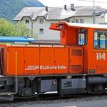 Schweizer-Eisenbahnen - Tm 2/2 * 114
