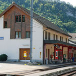 Schweizer-Eisenbahnen Bahnhof Waldenburg