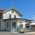 Schweizer-Eisenbahnen Bahnhof Heiden