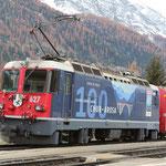 Schweizer-Eisenbahnen - Ge 4/4 II * 627