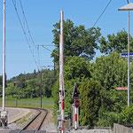 Schweizer-Eisenbahnen - Bahnhof Wiesengrund