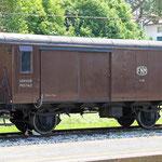 Januar 2020: Postwagen D 681 der FNM [Ferrovie Nord Milano]. (Aufnahme vom Mai 2015.)